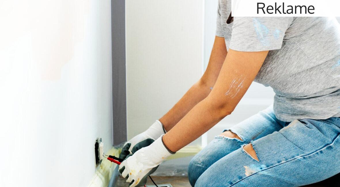 Renovering af væg